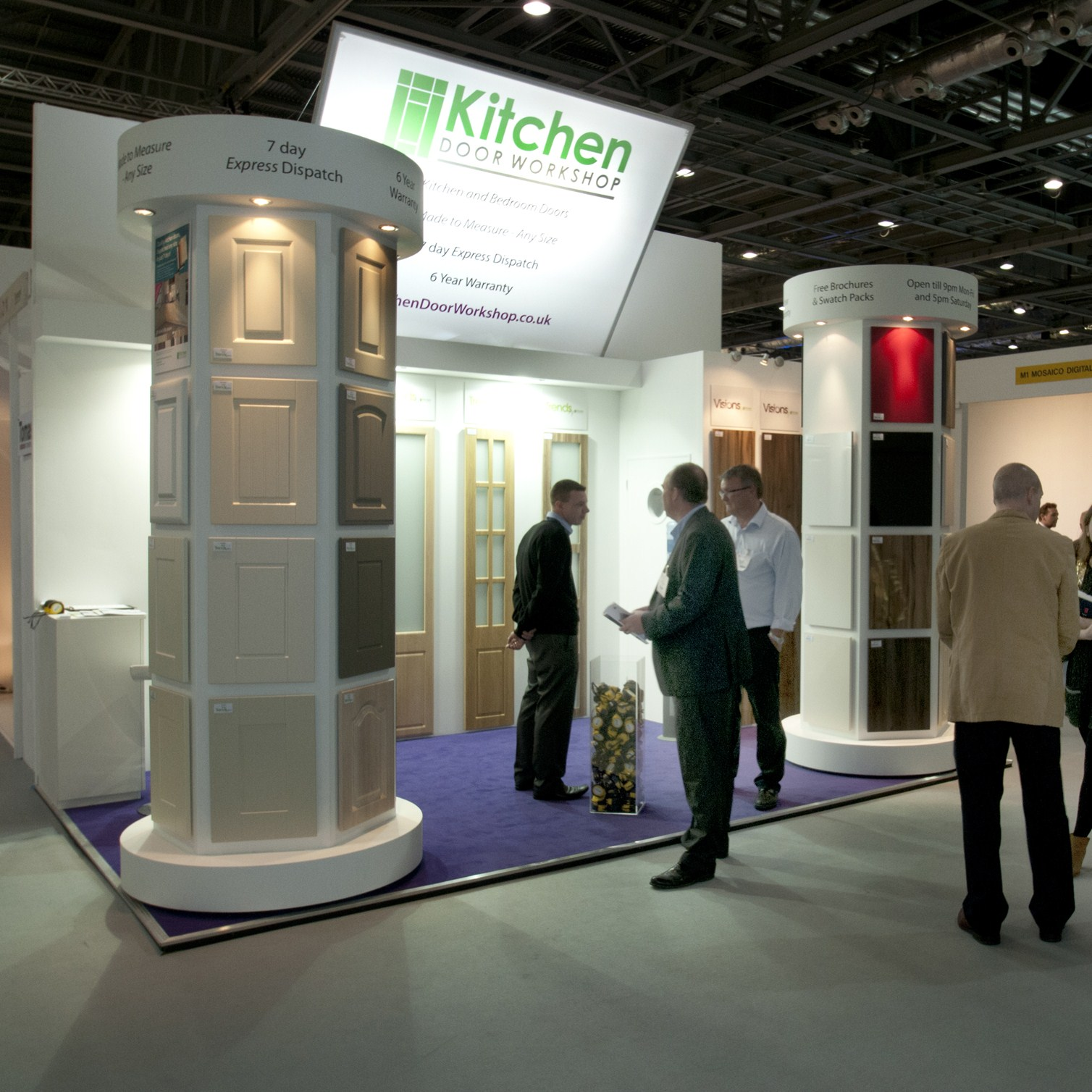 Kitchen door workshop announces its attendance at kbb for Kbb birmingham 2016
