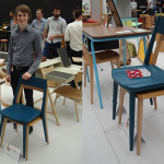 Jacob Underwood, winner of the BCFA Award at New Designers