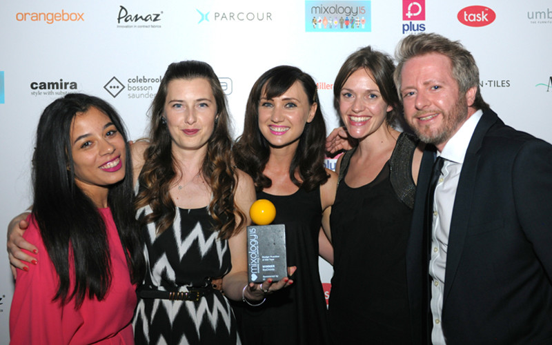 NoChintz Win Mixology 2015 Award
