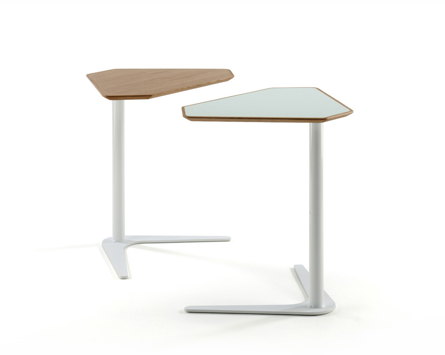 Laptop tables are on the rise in design magazinein for Furniture table design examples
